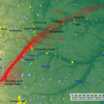 隕石は核再処理施設の近くに落ちた!