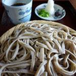 行者蕎麦「梅庵」と奈良井宿